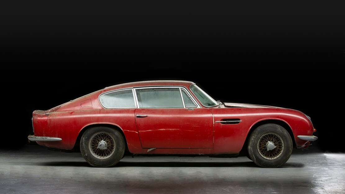 Aston Martin DB6 Sells Above $250,000 After A 30-Year Snooze